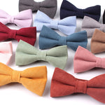 Men Bow Tie Classic Solid Colors For Casual Business Or Party