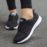5 COLORS Woman Sneakers White Platform Trainers Casual Shoe