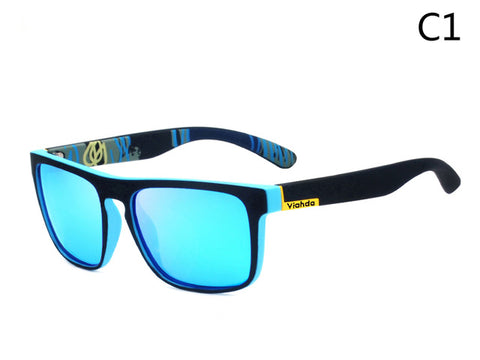 Mens Polarized Square Sunglasses UV400 Shades