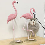 Stand Pink Flamingo Decor