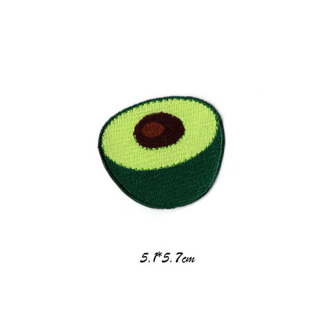 Avocado Patches DIY Stickers Appliques Embroidered