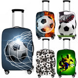 Soccer Suitcase Protective Cover Travel Case Sports