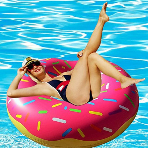 Inflatable Donut Tube Pool Float