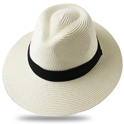 Summer Straw Hat Beach Panama Fedora
