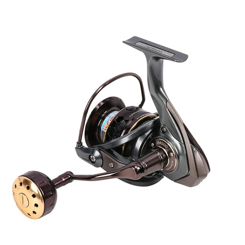 Fishing Reel JAGUAR Double Spool 9+1BB Saltwater Spinning