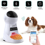 3L Automatic Pet Feeder Dispenser W/ Voice Record Camera
