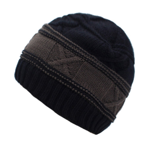 Winter Hats For Men Beanies Knitted Warm Fur