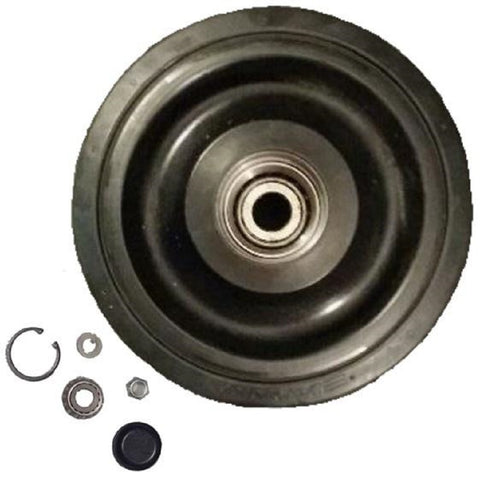 "One 10"" DuroForce Middle Bogie Wheel With Bearing Kit Fits CAT 247 RW3 2126628"