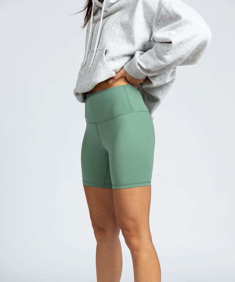 Cycle Short - Moss Green