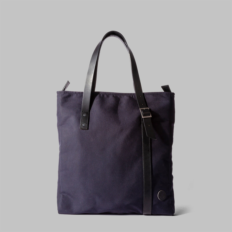 Ladies navy blue tote bag | Thorndale