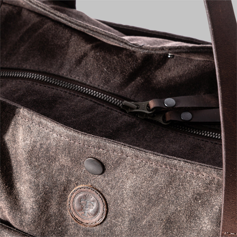 Appdale Tote Bag | Ladies Waxed Cotton & Leather Tote Bag, Made in England | Thorndale