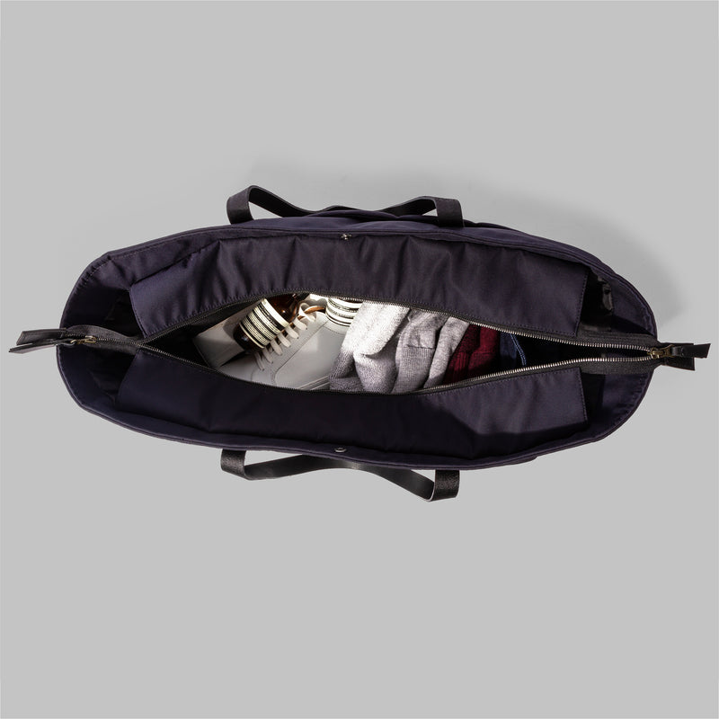 Appdale Large Navy Nylon Tote Bag