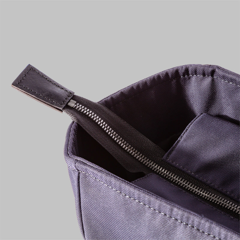 Appdale | Ladies navy nylon tote bag, made in England | Thorndale