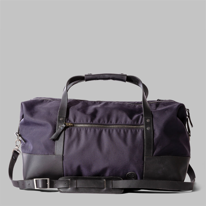 Ashford | Mens Navy Nylon & Leather Holdall | Thorndale