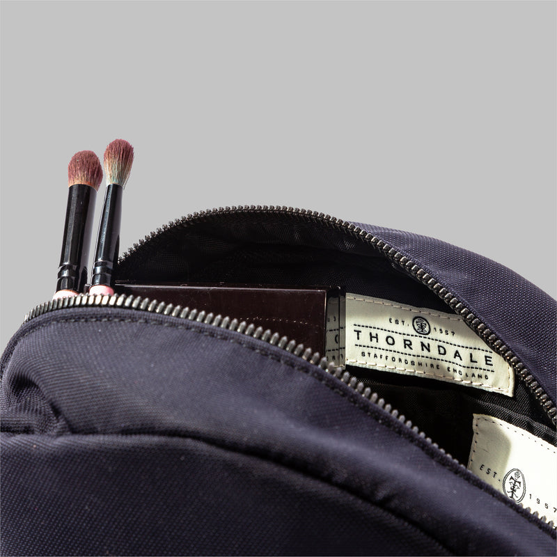 Asterley Beige Nylon Wash Bag