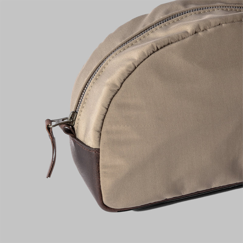 Asterley | Womens Beige Nylon Wash Bag | Thorndale, UK