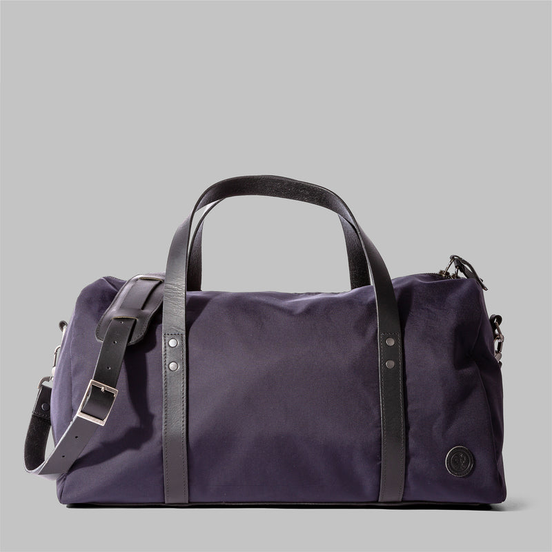 Bexley | Womens Navy Nylon & Leather Weekender | Thorndale, UK