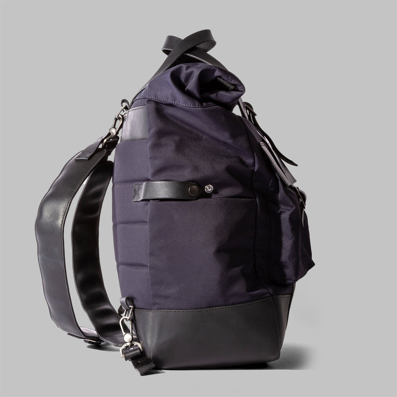 Brocton | Mens Navy Nylon Rucksack | Thorndale, UK