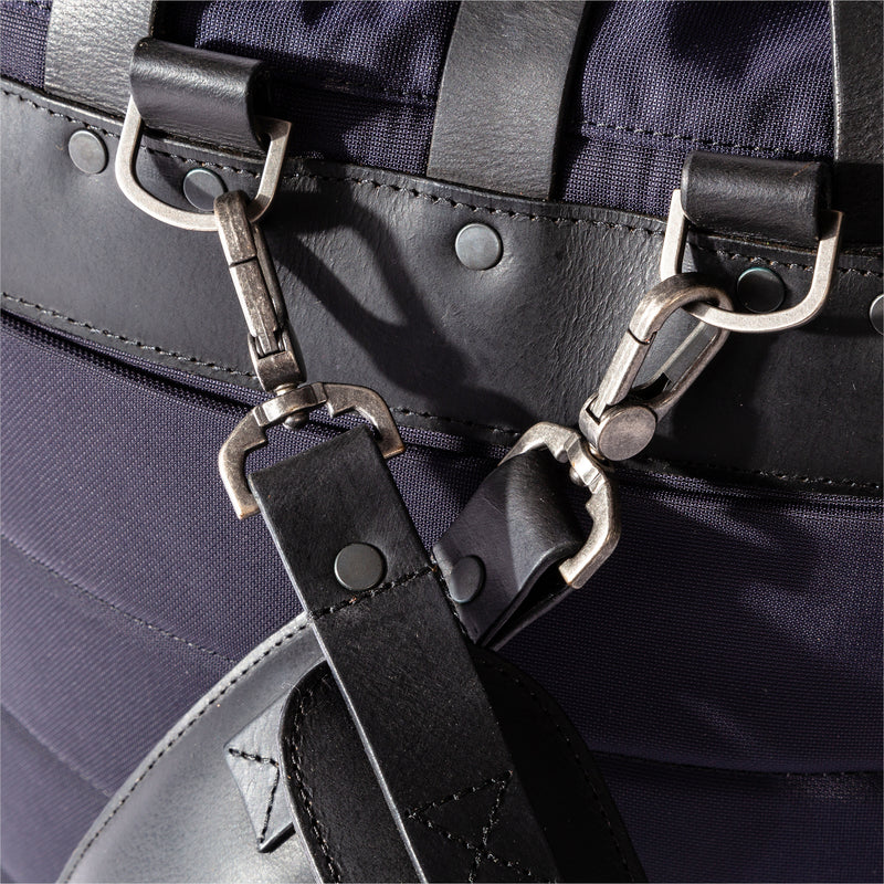 Brocton | Nylon & Leather Rucksack | Thorndale, UK