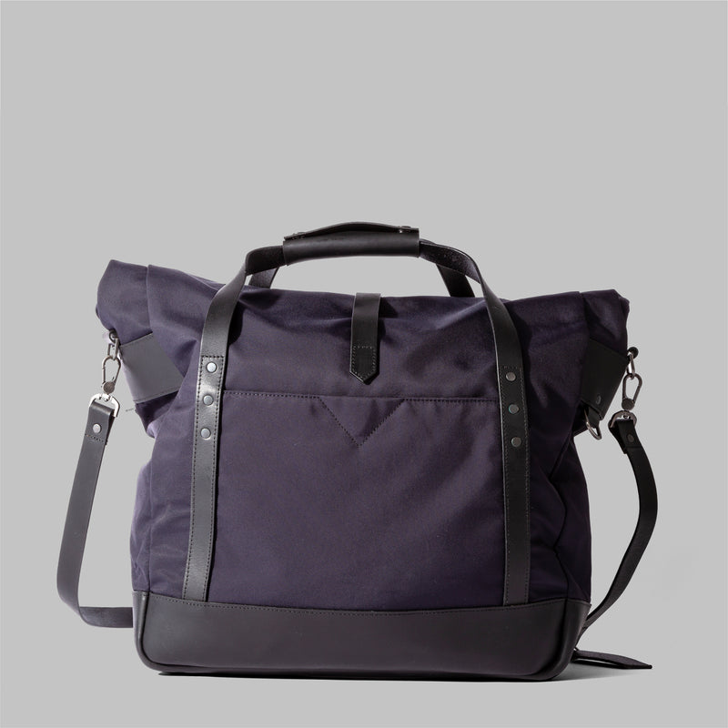 Croxden | Mens Navy Nylon Satchel | Thorndale, UK