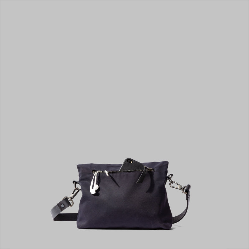 Ellesmere Cross Body Bag Navy Nylon