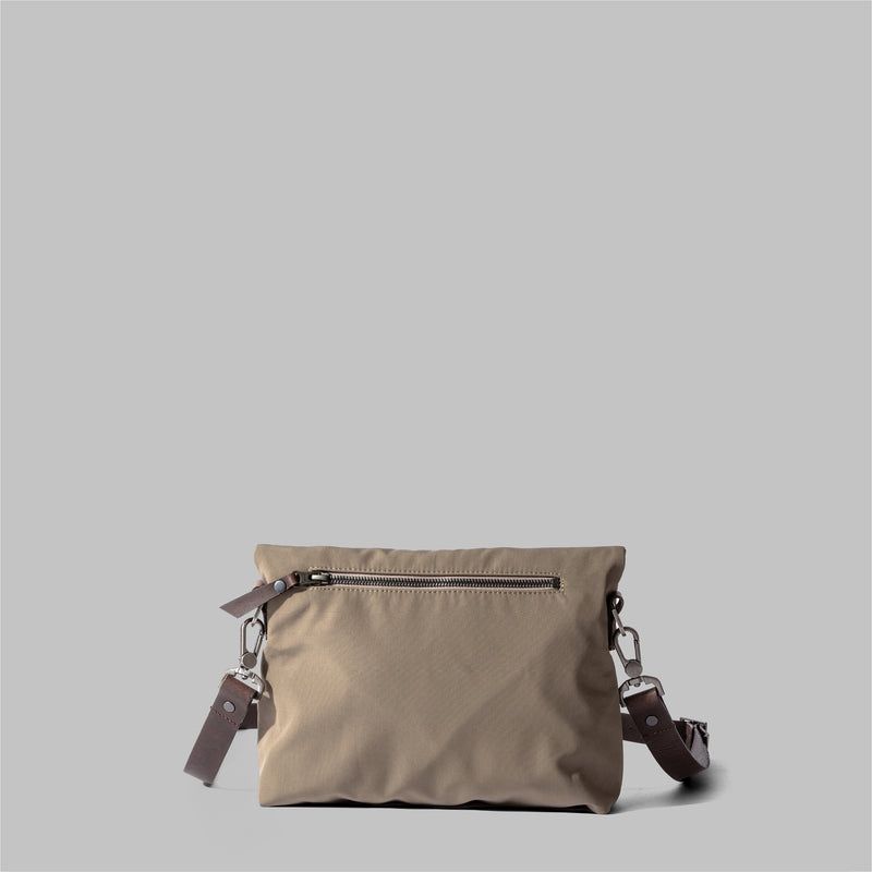 Ellesmere | Ladies Beige Nylon Cross Body Bag | Thorndale