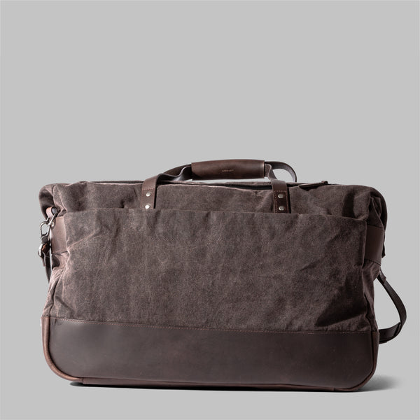 Haughton | Mens Brown Waxed Cotton Holdall | Thorndale, UK