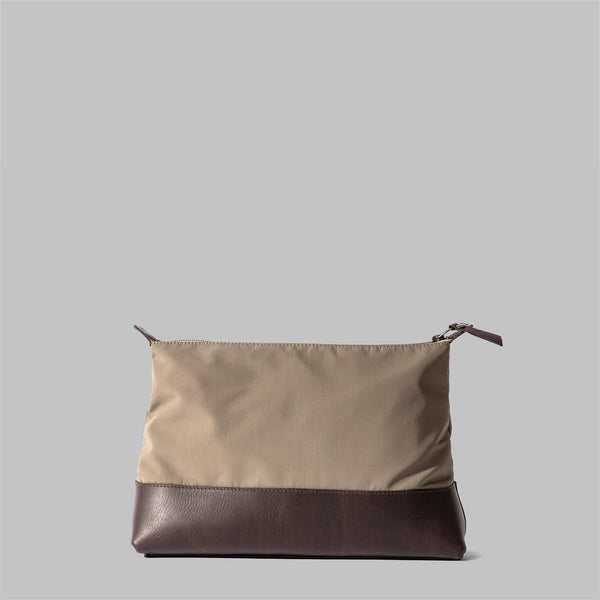 Silverdale | Womens Beige Nylon Wash Bag | Thorndale, UK