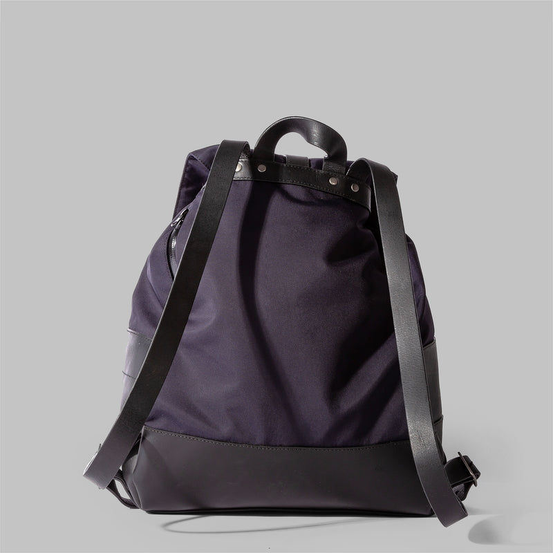 Weston | Womens Navy Nylon Rucksack | Thorndale, UK