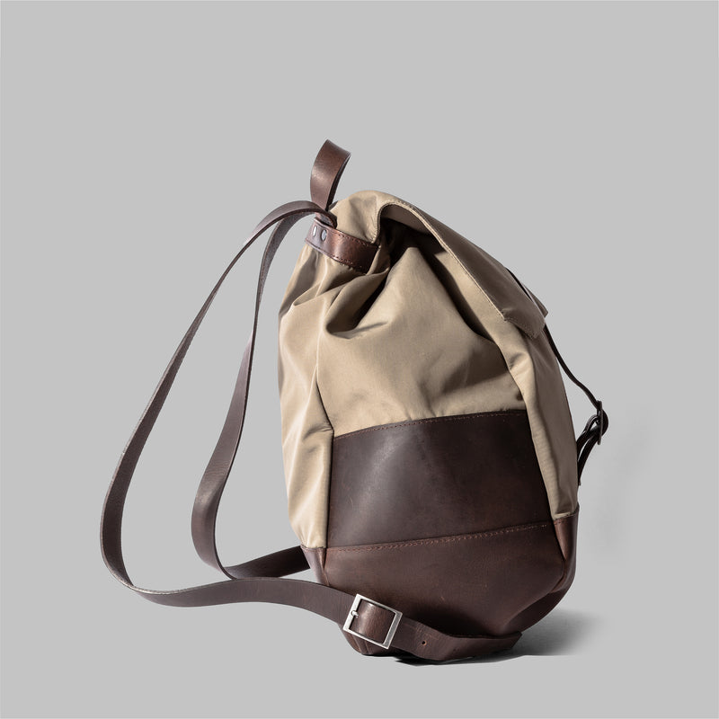 Weston | Womens Nylon & Leather Rucksack | Thorndale, UK