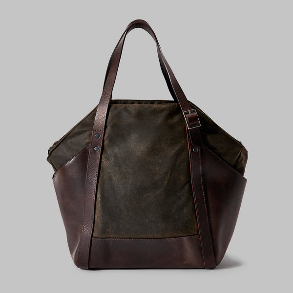Amerton Olive Shoulder Bag