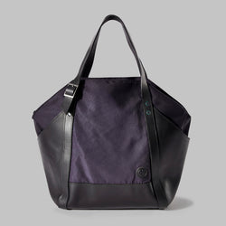 Amerton Navy Nylon Shoulder Bag