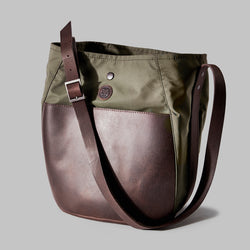 Moseley Olive Nylon Bucket Bag