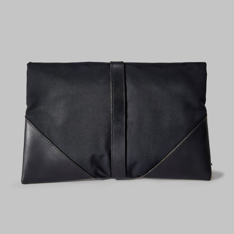 Anslow Navy Nylon Clutch