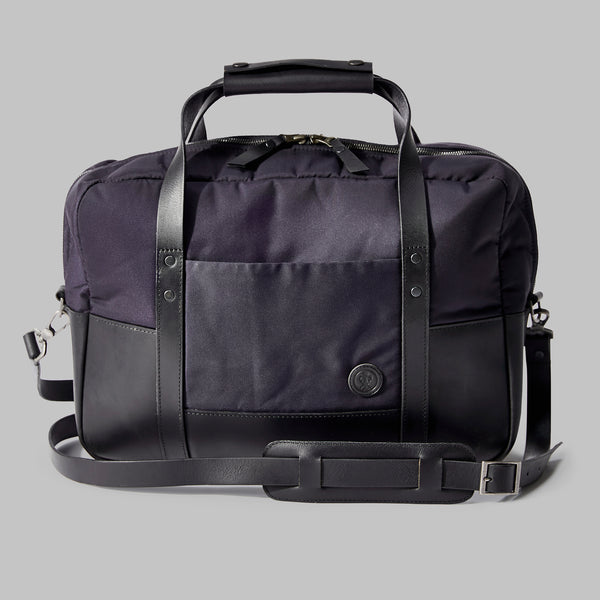 Hanley Navy Nylon Laptop Bag