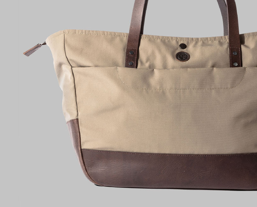 Appdale Large Bige Nylon Tote Bag