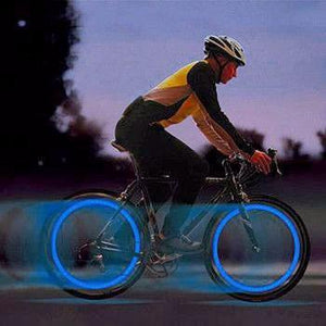 2 Pack - LED luces de rueda de bicicleta