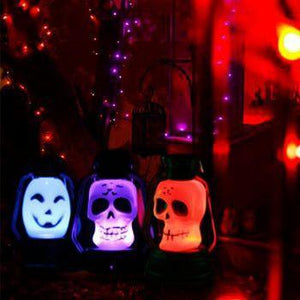 Lampara led portátil embrujada de Halloween