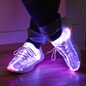 Zapatos LED iluminados