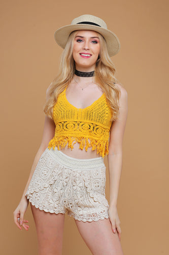 New: CROCHET SHORTS