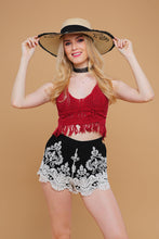 NEW: Crochet top and Shorts SOLD-OUT