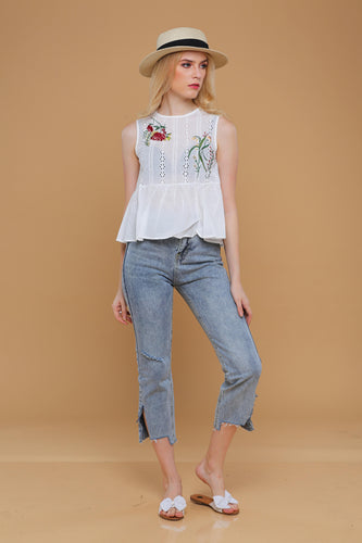 New: Giselle Denim Pants