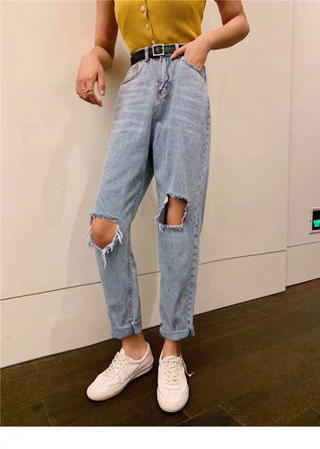 New: DUA RIPPED DENIM