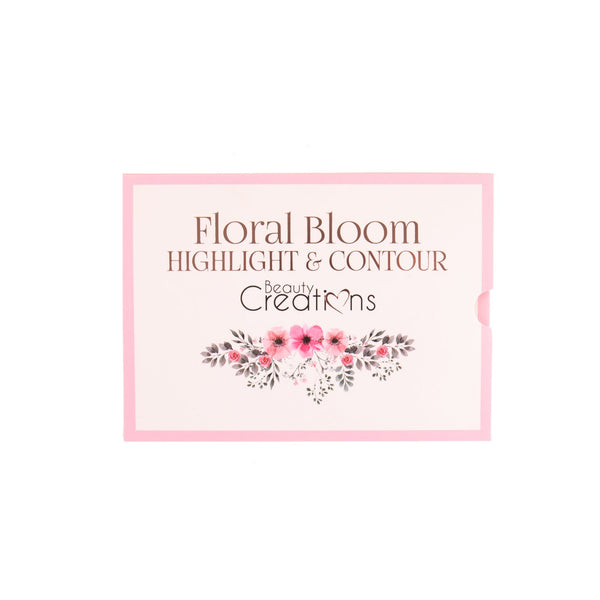 Floral Bloom Highlight & Contour Beauty Creations