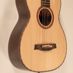 boutique acoustic guitar by guitar maker and luthier portland guitar