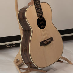 rosewood acoustic guitar made by a luthier
