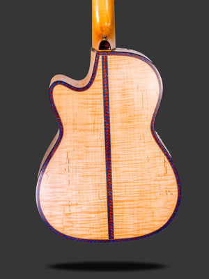 Flamed Maple with Spruce Theatre Model Cutaway Acoustic Guitar