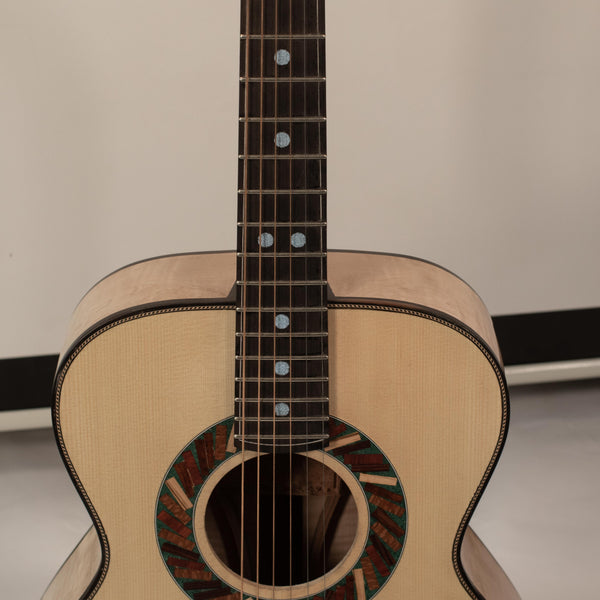 Flamed Maple/Sitka Spruce OM