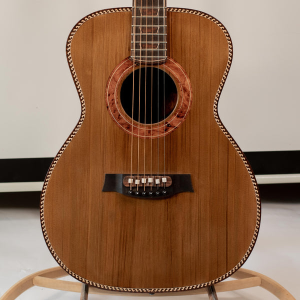 OM Brazilian Rosewood with Western Red Cedar Top