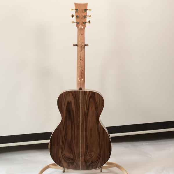 OM Rosewood with Adirondack Spruce top-- Rosewood Bridge